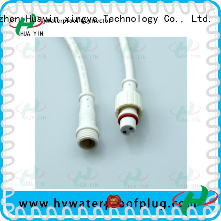 HUA YIN five pin waterproof plug for floor heating