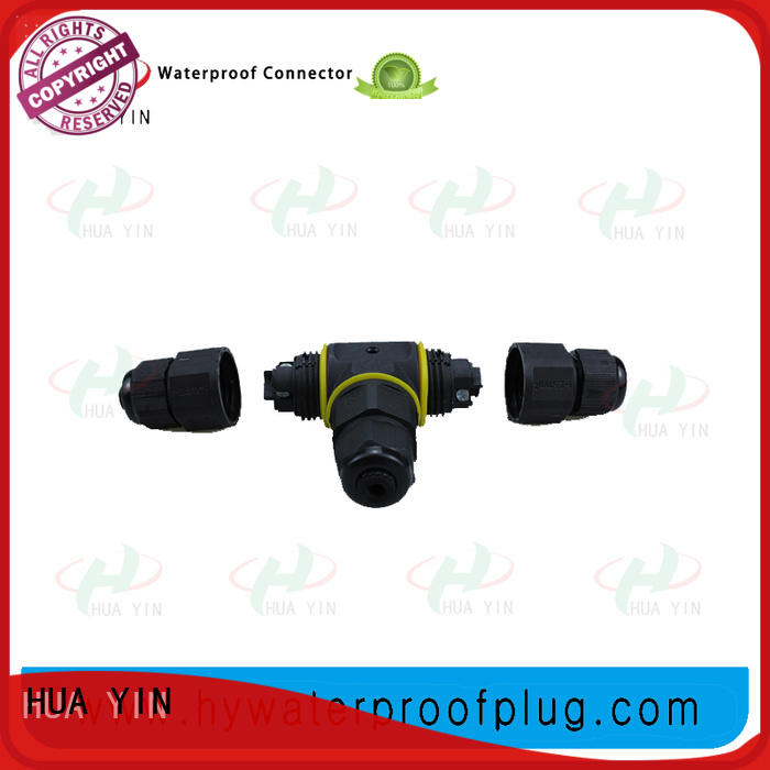 black cable assembly manufacturers supplier for led HUA YIN