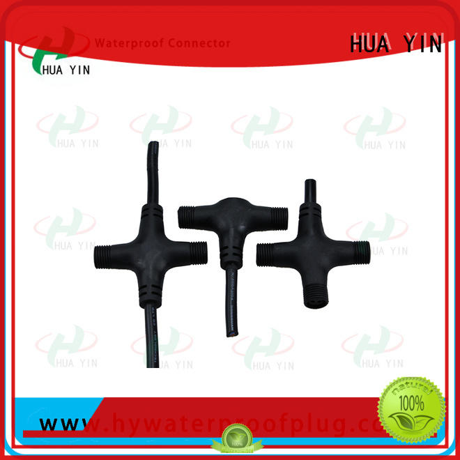 HUA YIN t cable connector manufacturer for display screen