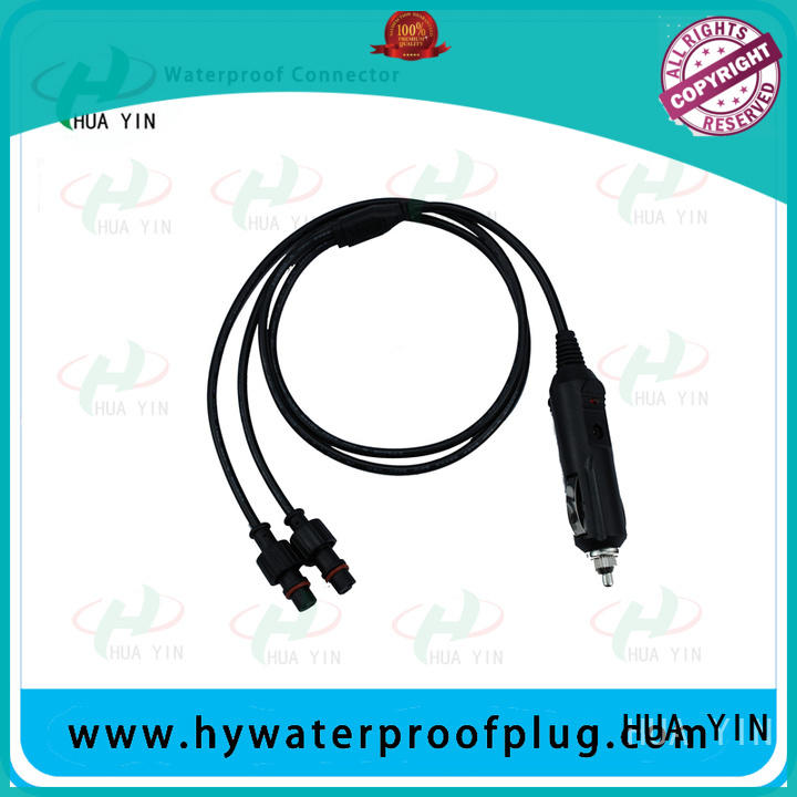 one input pvc y connector power cable for led