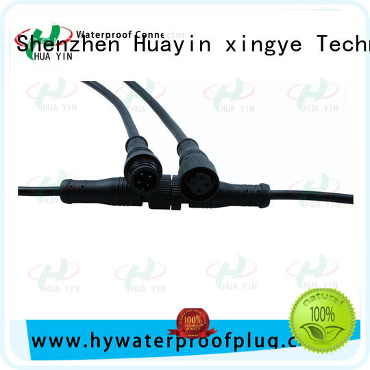 HUA YIN five pin waterproof plug supplier for electronic industry
