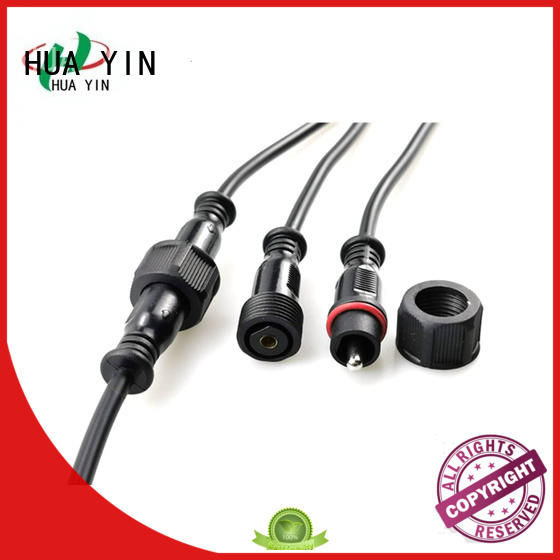 HUA YIN PVC Waterproof Plug cable for cultivation