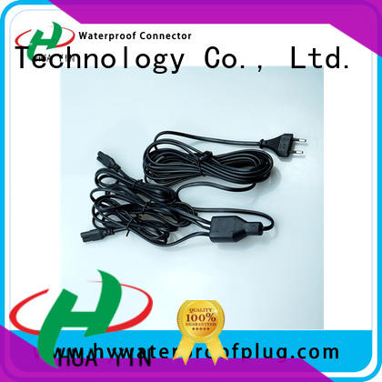 HUA YIN one input y type connector for floor heating