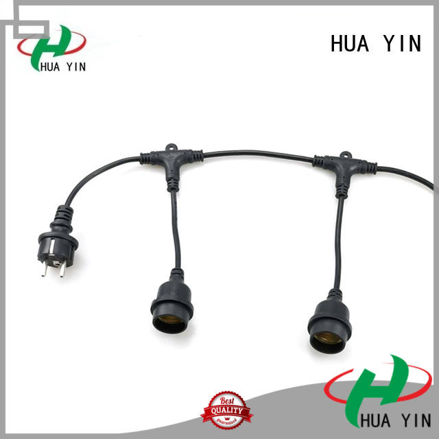colored lamp holder kit with clamp connector for wedding