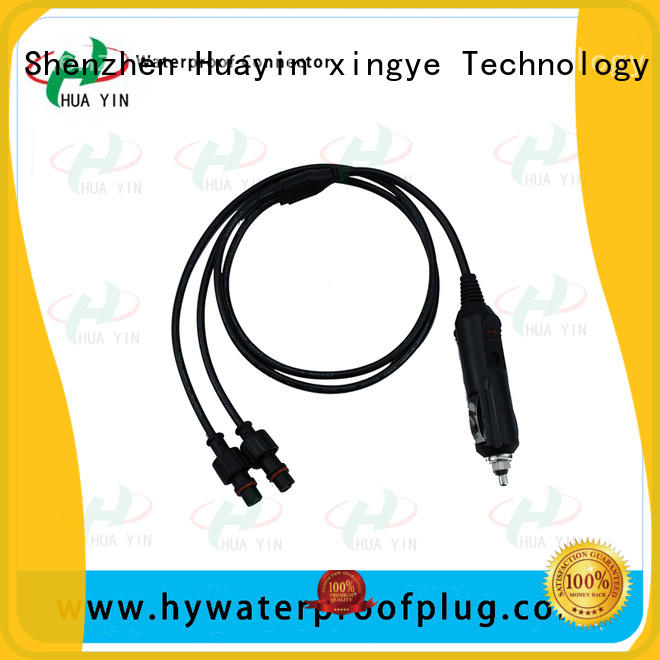 HUA YIN pvc y connector power cable for display screen