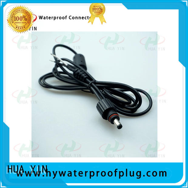 HUA YIN shockproof waterproof dc connector for solar water heater