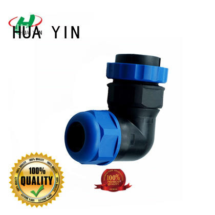 HUA YIN waterproof connectors with strong pressure resistance for sale