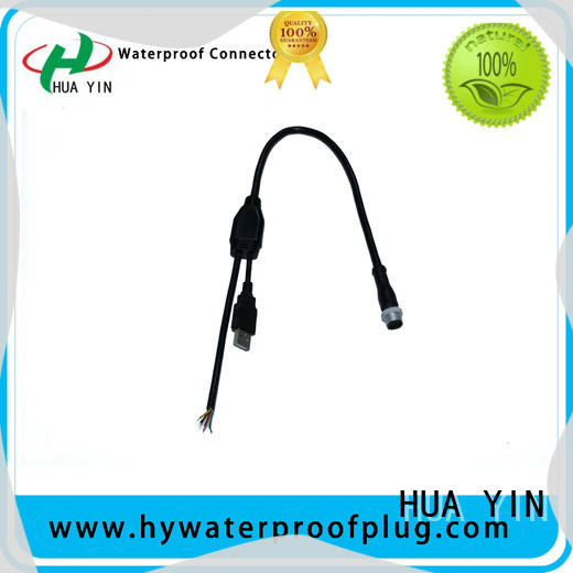 HUA YIN six output pvc y connector maker for display screen