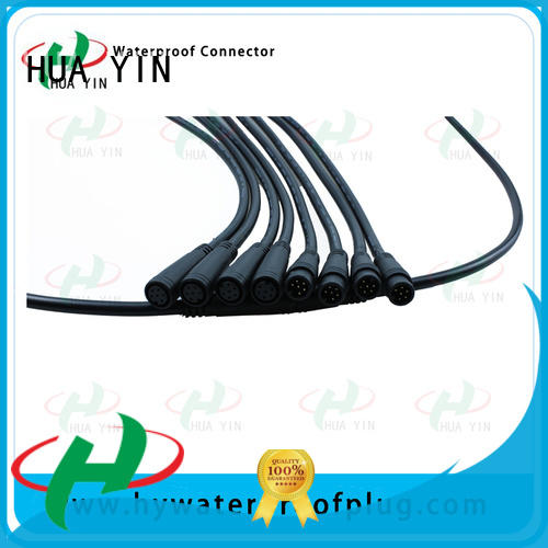 HUA YIN m8 female connector wholesale for display screen