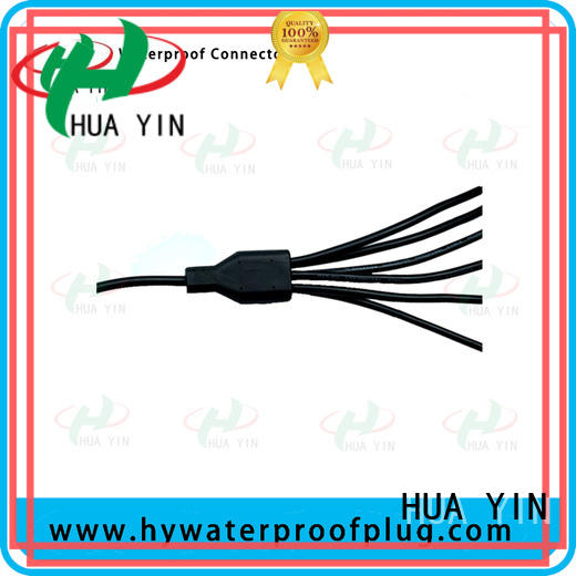 one input pvc y connector plug for display screen