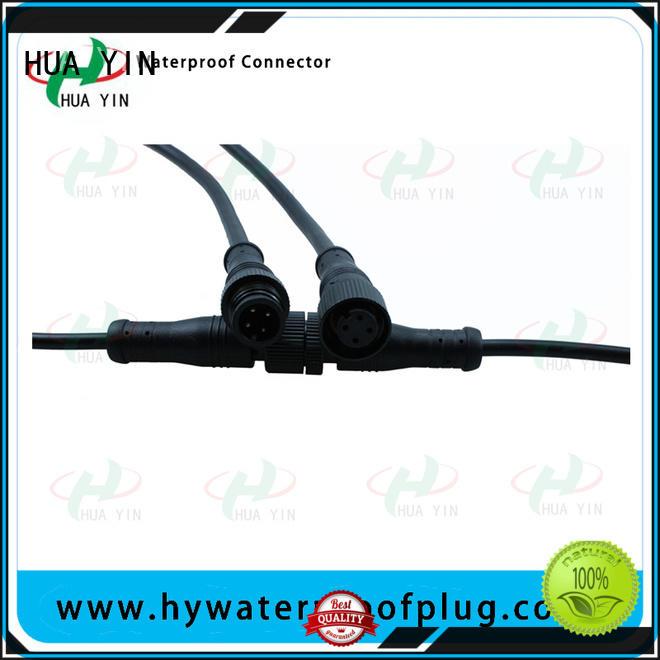HUA YIN two pin outdoor plug manufacturer for laser