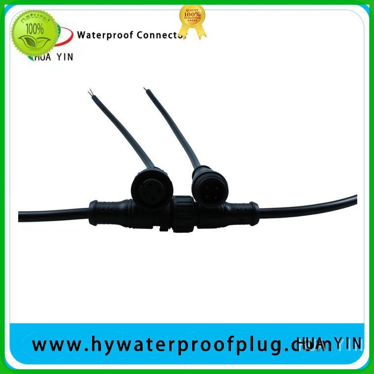 Metal PVC Waterproof Plug manufacturer for cultivation HUA YIN