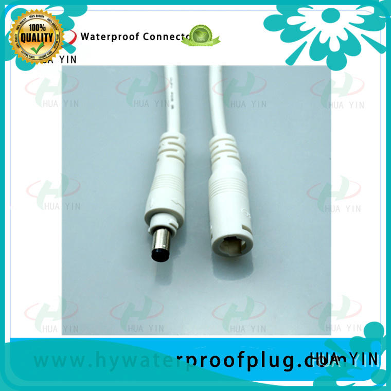 HUA YIN waterproof dc connector for lithium battery