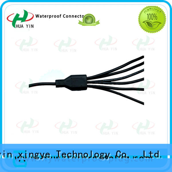 HUA YIN one input y piece connector manufacturer for led