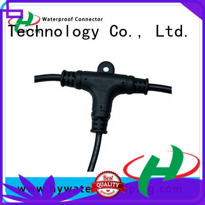 odm cable t connector maker for led HUA YIN