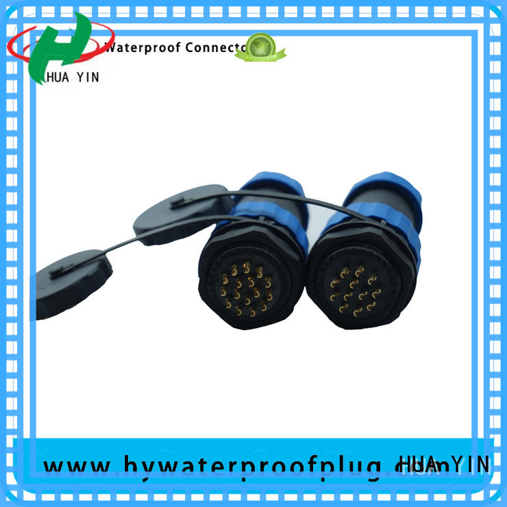 HUA YIN y connector long service life for outdoor engineering connections