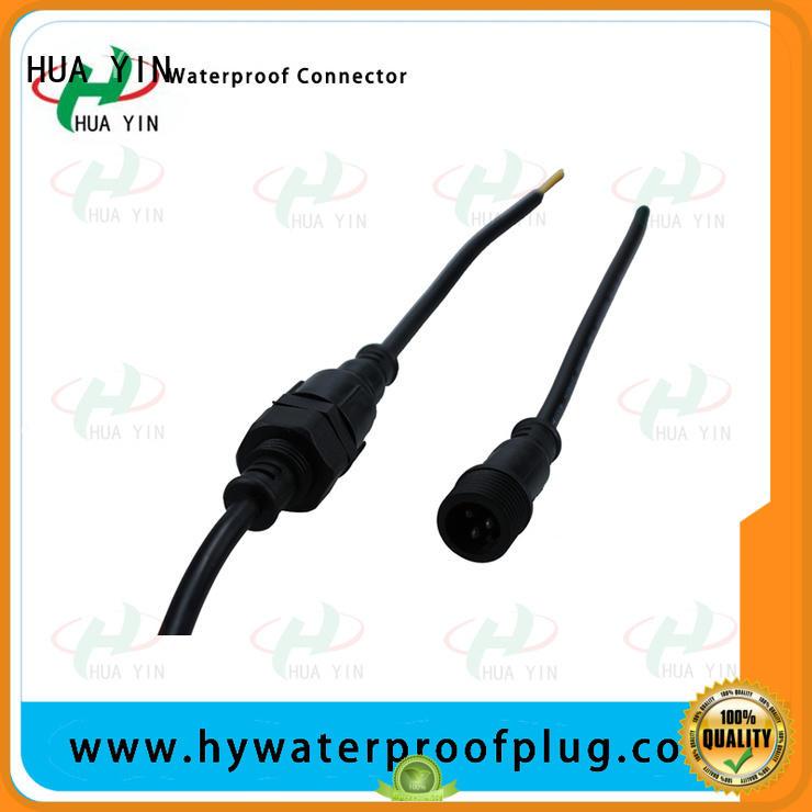 HUA YIN five pin Panel PVC Waterproof Plug suipplier for laser
