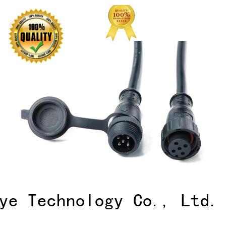 HUA YIN waterproof plug manufacturer for led