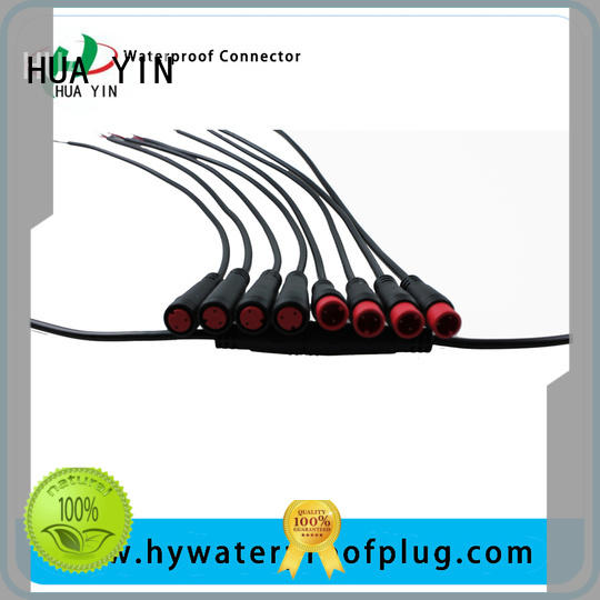 HUA YIN round pico m8 connector manufacturer for floor heating