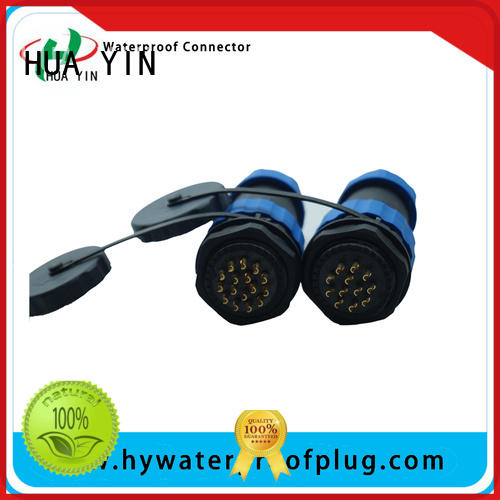 multiplex y connector wire with sturdy shell for street lamp